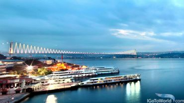 In Istanbul, opened a new luxury hotel